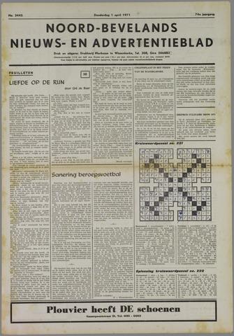 Noord-Bevelands Nieuws- en advertentieblad 1971-04-01
