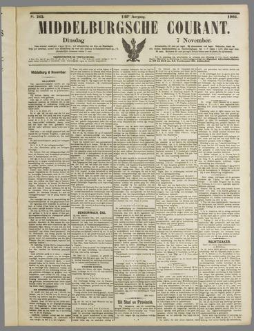 Middelburgsche Courant 1905-11-07