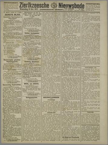 Zierikzeesche Nieuwsbode 1917-10-31