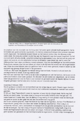 Watersnood documentatie 1953 - tijdschriften 2001