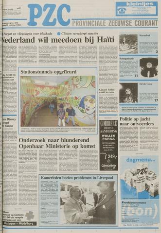 Provinciale Zeeuwse Courant 1993-10-19