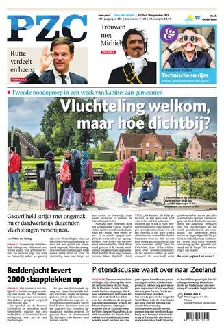 Provinciale Zeeuwse Courant 2015-09-18