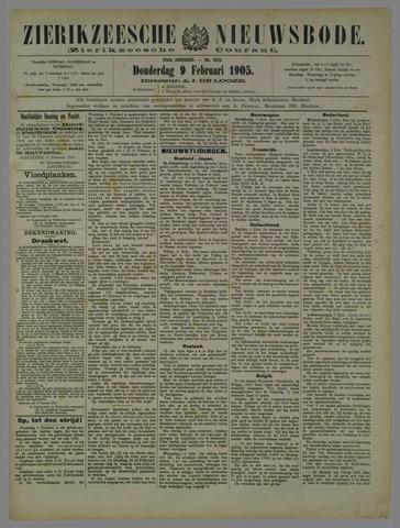 Zierikzeesche Nieuwsbode 1905-02-09