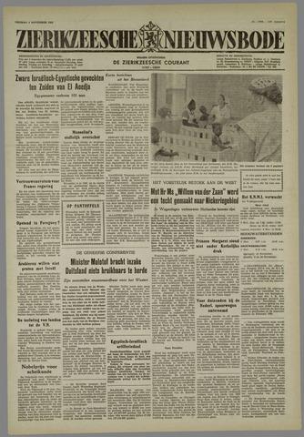 Zierikzeesche Nieuwsbode 1955-11-04
