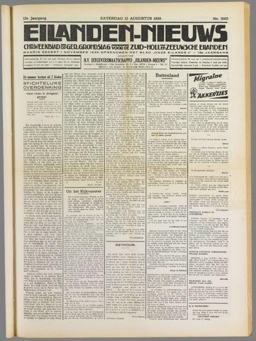 Eilanden-nieuws. Christelijk streekblad op gereformeerde grondslag 1939-08-12