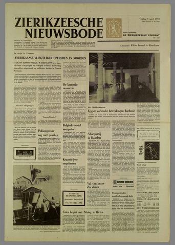 Zierikzeesche Nieuwsbode 1972-04-07