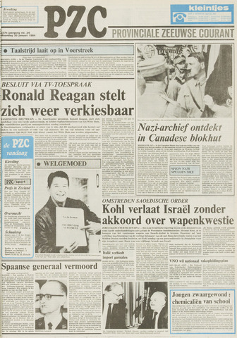 Provinciale Zeeuwse Courant 1984-01-30