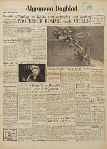 Watersnood documentatie 1953 - kranten 1953-11-09