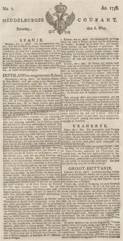 Middelburgsche Courant 1758-05-06