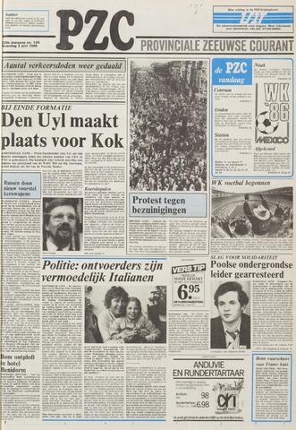 Provinciale Zeeuwse Courant 1986-06-02