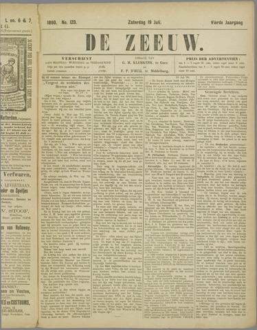 De Zeeuw. Christelijk-historisch nieuwsblad voor Zeeland 1890-07-19