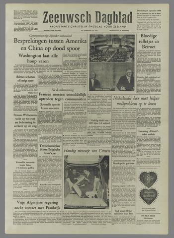 Zeeuwsch Dagblad 1958-09-25
