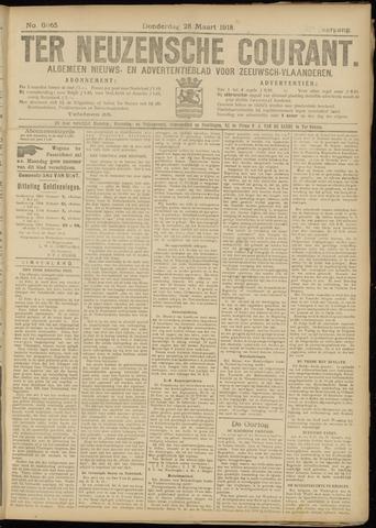 Ter Neuzensche Courant. Algemeen Nieuws- en Advertentieblad voor Zeeuwsch-Vlaanderen / Neuzensche Courant ... (idem) / (Algemeen) nieuws en advertentieblad voor Zeeuwsch-Vlaanderen 1918-03-28