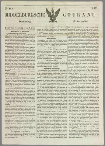 Middelburgsche Courant 1865-11-16