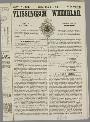 Vlissings Weekblad 1867-07-21