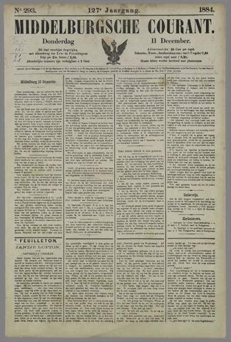 Middelburgsche Courant 1884-12-11
