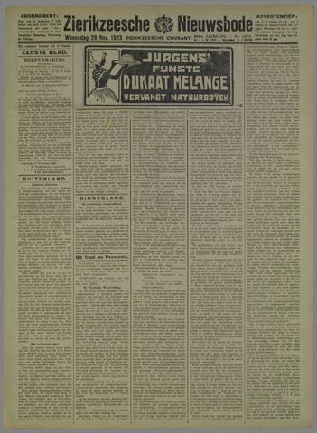 Zierikzeesche Nieuwsbode 1923-11-28