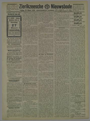 Zierikzeesche Nieuwsbode 1923-03-23