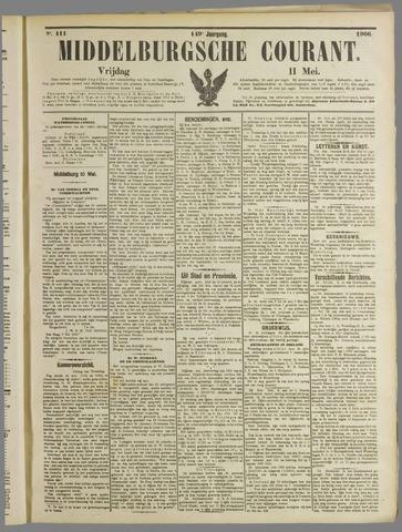 Middelburgsche Courant 1906-05-11