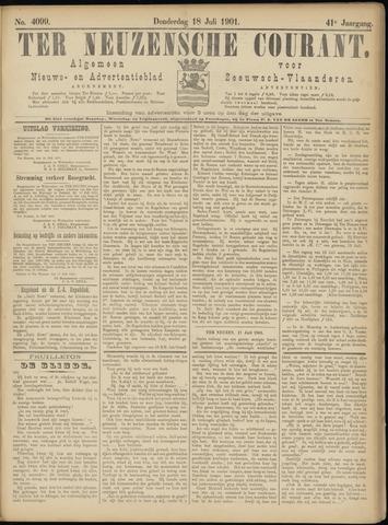 Ter Neuzensche Courant. Algemeen Nieuws- en Advertentieblad voor Zeeuwsch-Vlaanderen / Neuzensche Courant ... (idem) / (Algemeen) nieuws en advertentieblad voor Zeeuwsch-Vlaanderen 1901-07-18