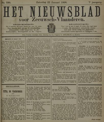 Nieuwsblad voor Zeeuwsch-Vlaanderen 1898-01-22
