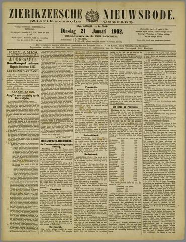 Zierikzeesche Nieuwsbode 1902-01-21