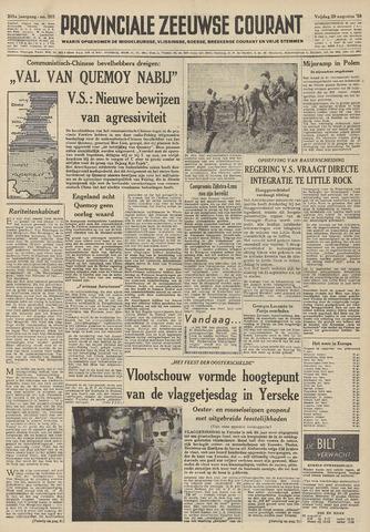Provinciale Zeeuwse Courant 1958-08-29