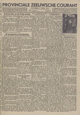 Provinciale Zeeuwse Courant 1943-04-07