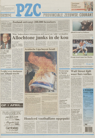 Provinciale Zeeuwse Courant 1997-04-01