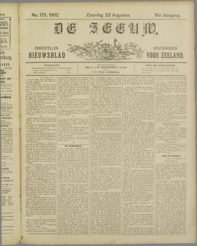 De Zeeuw. Christelijk-historisch nieuwsblad voor Zeeland 1902-08-23