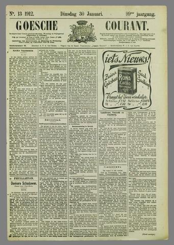 Goessche Courant 1912-01-30