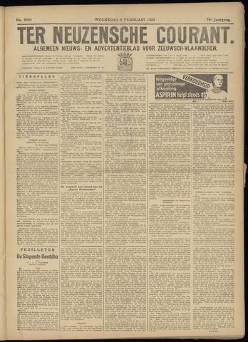 Ter Neuzensche Courant. Algemeen Nieuws- en Advertentieblad voor Zeeuwsch-Vlaanderen / Neuzensche Courant ... (idem) / (Algemeen) nieuws en advertentieblad voor Zeeuwsch-Vlaanderen 1933-02-08