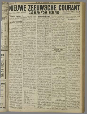 Nieuwe Zeeuwsche Courant 1920-09-24