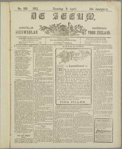 De Zeeuw. Christelijk-historisch nieuwsblad voor Zeeland 1912-04-09