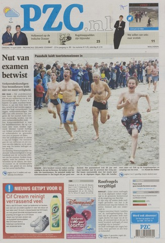 Provinciale Zeeuwse Courant 2009-04-14