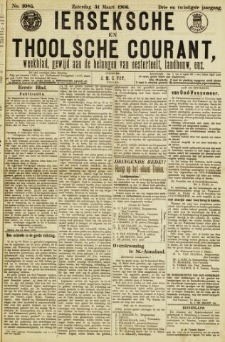 Ierseksche en Thoolsche Courant 1906-03-31