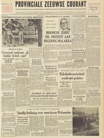 Provinciale Zeeuwse Courant 1963-09-04