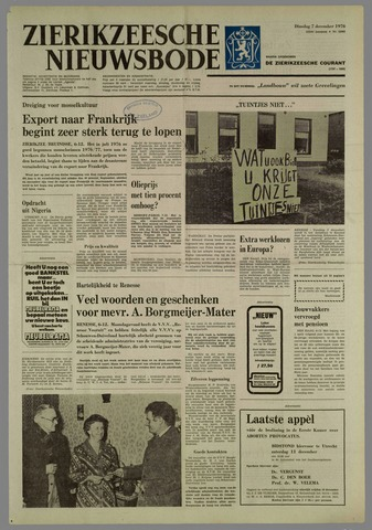 Zierikzeesche Nieuwsbode 1976-12-07