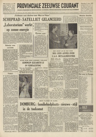 Provinciale Zeeuwse Courant 1959-08-08