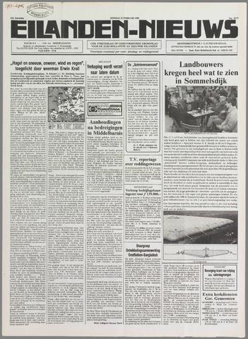 Eilanden-nieuws. Christelijk streekblad op gereformeerde grondslag 1989-02-21