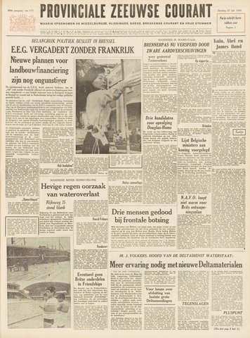 Provinciale Zeeuwse Courant 1965-07-27