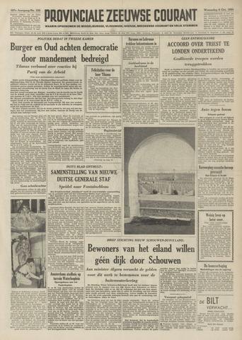 Provinciale Zeeuwse Courant 1954-10-06