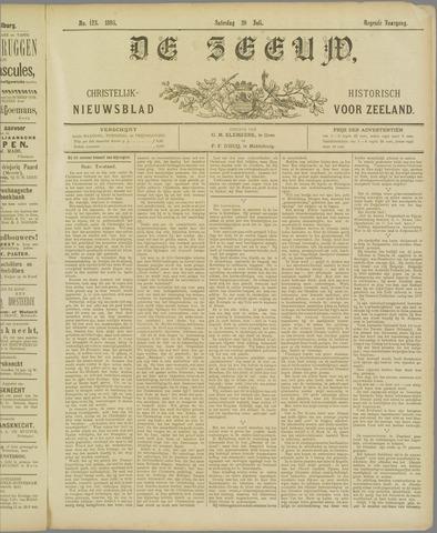 De Zeeuw. Christelijk-historisch nieuwsblad voor Zeeland 1895-07-20