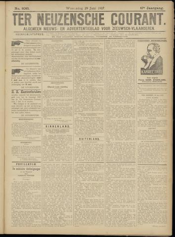 Ter Neuzensche Courant. Algemeen Nieuws- en Advertentieblad voor Zeeuwsch-Vlaanderen / Neuzensche Courant ... (idem) / (Algemeen) nieuws en advertentieblad voor Zeeuwsch-Vlaanderen 1927-06-29