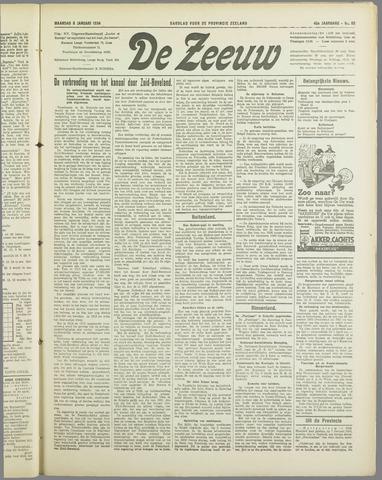 De Zeeuw. Christelijk-historisch nieuwsblad voor Zeeland 1934-01-08
