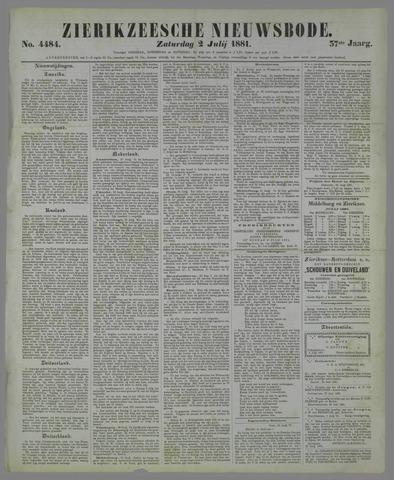 Zierikzeesche Nieuwsbode 1881-07-02