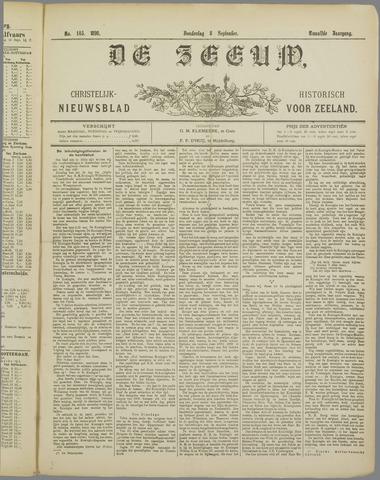 De Zeeuw. Christelijk-historisch nieuwsblad voor Zeeland 1898-09-08