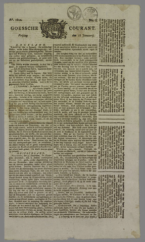 Goessche Courant 1822-01-18