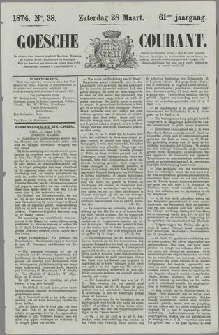 Goessche Courant 1874-03-28