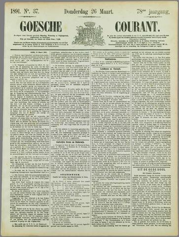 Goessche Courant 1891-03-26